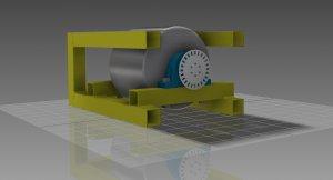 Projekt diy motorrad prüfstand