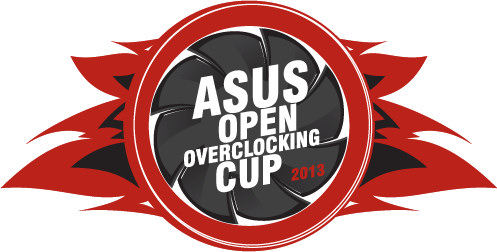 asus open overclocking cup 2013 logo