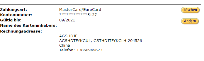 amazon kreditkarte akualisieren
