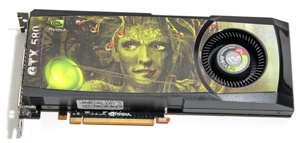 Factory overclocked: Point of View GTX 580 TGT Ultra Charged