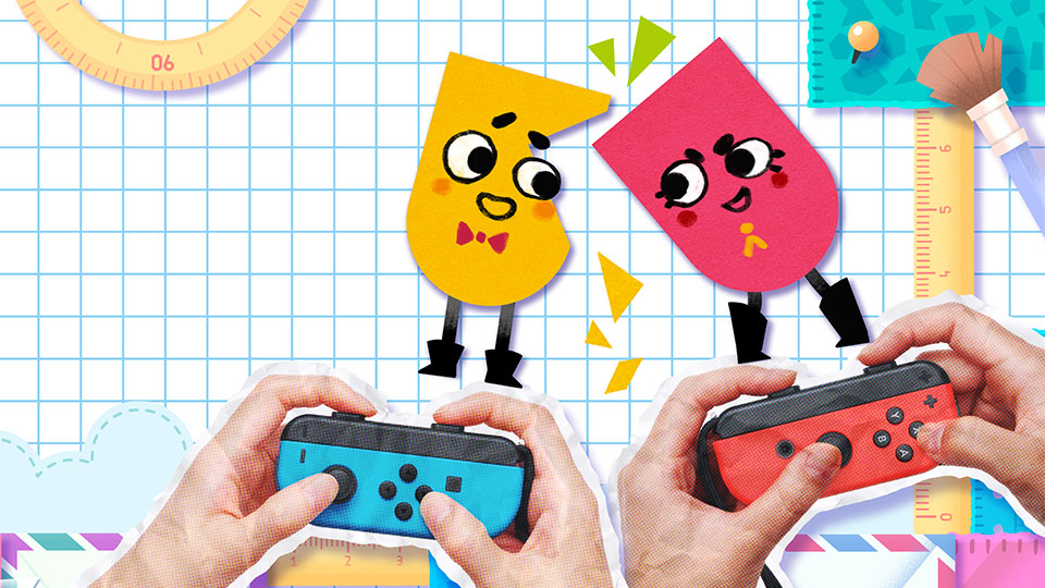 snipperclips cut it out together 1