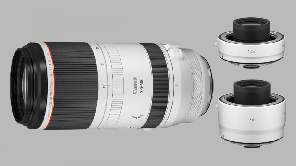 super telephoto canon rf 100 500mm plus rf 1 4x and 2x extenders announced 1